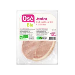 Jambon cuit avec couenne x4...