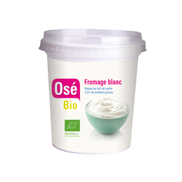 Fromage blanc 400g ose bio