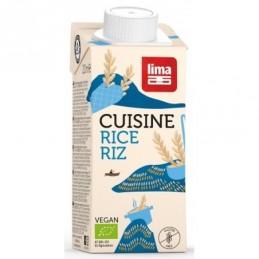 Creme cuisine riz   200ml lima