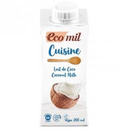 Lait coco cuisine 200ml ecomil