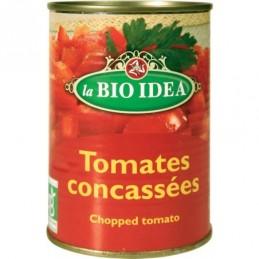 Tomates concasses 400g bioidea
