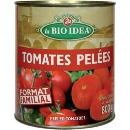 Tomates pelees 800g bioidea