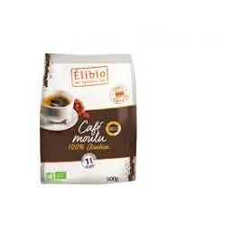 Cafe moulu 100% arabica...