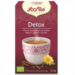 Detox 17x1.8g 30.6g yogi tea