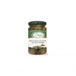 Olives farcies poivrons...