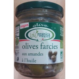 Olives farcies amandes 190g...