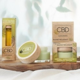 Beaume relaxant cbd 30ml...
