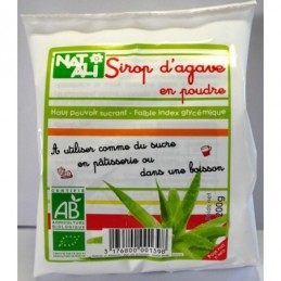 Sirop agave poudre 200g natali