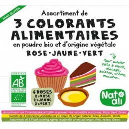 Colorants alimentaires x3...