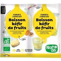 Boisson kefir fruits 2x5g nata