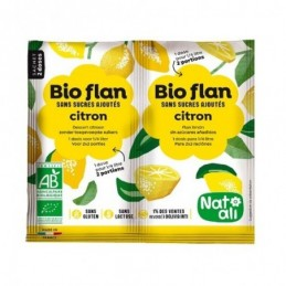 Bio-flan-citron 7g non sucre n