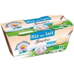 Riz lait brebis     2x140g...