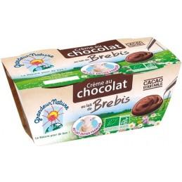 Creme chocolat lait  brebis...