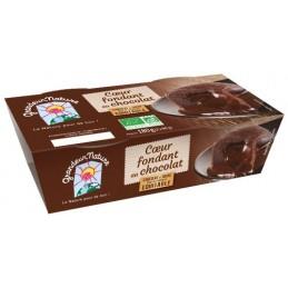 Coeur fondant chocolat...