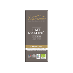 Chocolat lait 100g dardenne