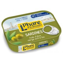 Sardine h.olive 135g phare d e