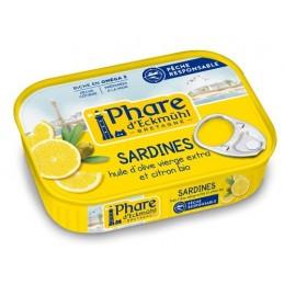 Sardines au citron 135g phare