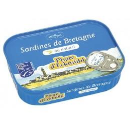 Sardines au naturel 135g...