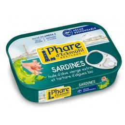 Sardines tartare    algues...