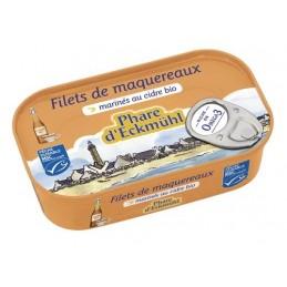 Filet maquereaux cidre 118g...