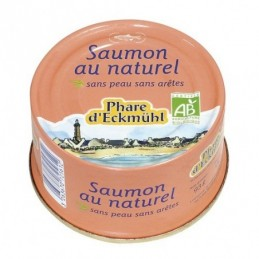 Saumon naturel 93g phare...