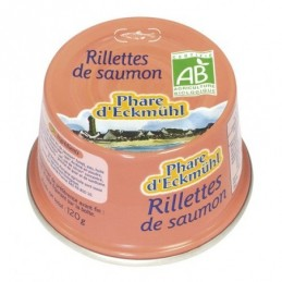 Rillette de saumon 120g phare