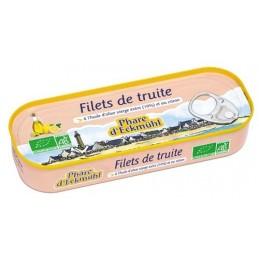 Filet truite 3 huiles 115g...