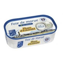 Foie morue sans sel 121g ph