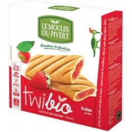 Twibio fraise 150g moulin pive