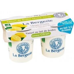 Yaourt brebis citron 2x125g be