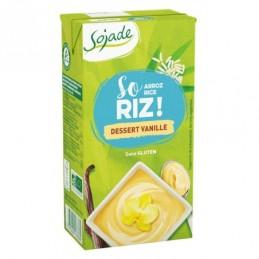 Dessert riz vanille 530g...