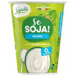 Sojade yaourt nature 400g soja