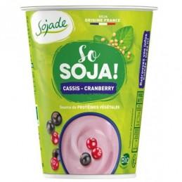 Sojade cassis cranberry 400g s