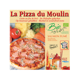 Pizza saumon fume   360g...
