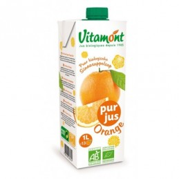 Jus d'orange tetra 1l vitamont