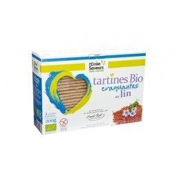 Tartines lin s.g.200g emile no