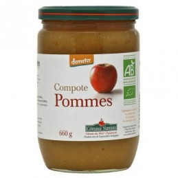 Compote pommes 660g coteaux na