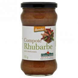 Compote rhubarbe 315g coteaux