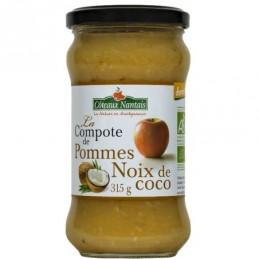 Compote pomme noix de coco...