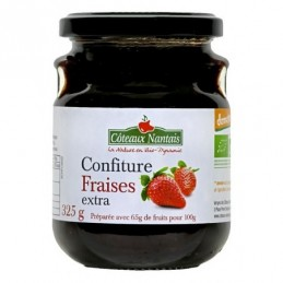 Confiture fraise extra 325g...