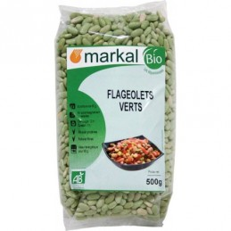Flageolets verts 500g markal