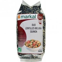 Lentille beluga quinoa...