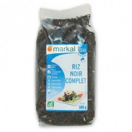 Riz noir complet 500g markal