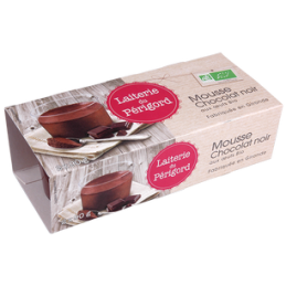 Mousse chocolat 2x90g...