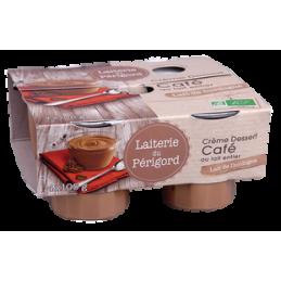 Creme cafe 4x105g laiterie...