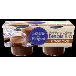 Creme brebis chocolat 2x95g