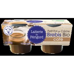Creme brebis cafE 2x95g