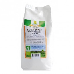 Farine de ble t45 1kg moulin d