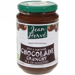Chocolade crunchy 750g jean he
