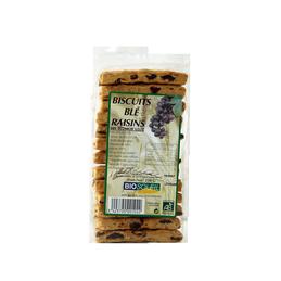 Biscuit ble raisins 250g bioso